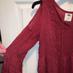 Cold Shoulder Dress (Forever 21)